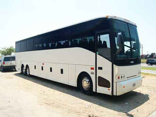 Knoxville 56 Passenger Charter Bus