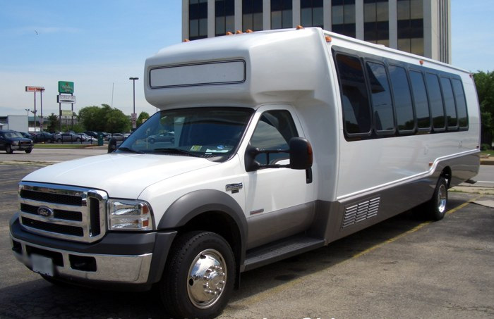 Knoxville 18 Passenger Party Bus